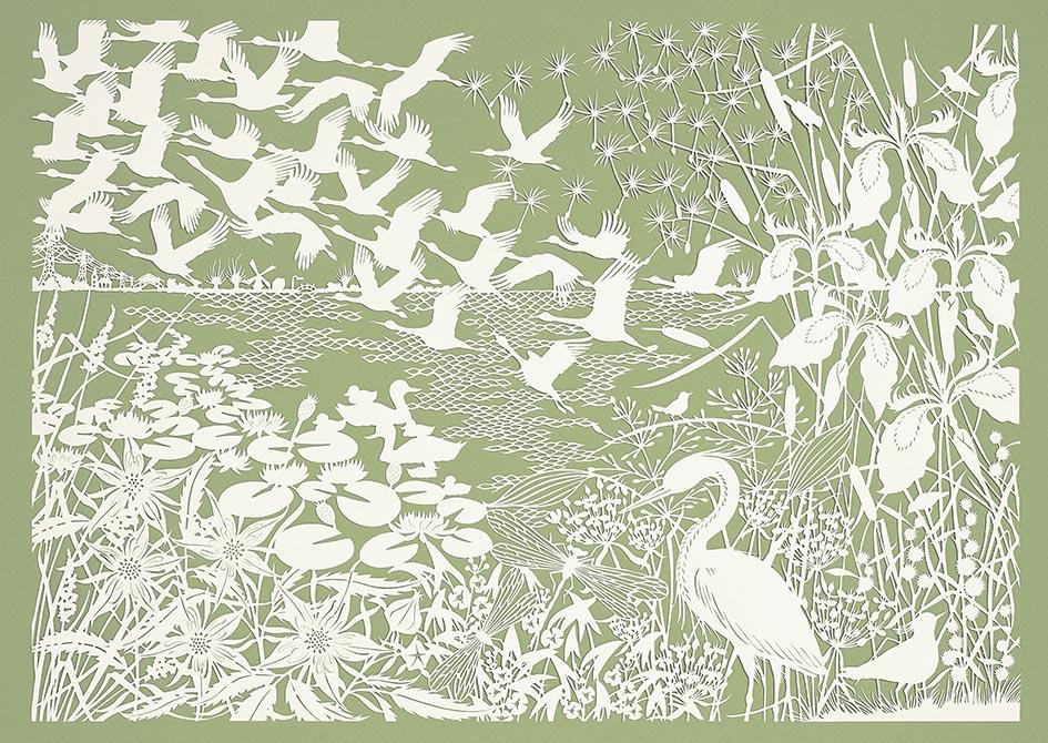 Naar Buiten Kraanvogels Flow GEertje